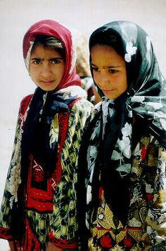 Baluchi nomads, Lut Desert, Iran