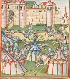 Elisabeth <Nassau-Saarbrücken, Gräfin, 1393-1456> Herpin — Stuttgart (?) - Werkstatt Ludwig Henfflin, um 1470 Cod. Pal. germ. 152 Folio 246r