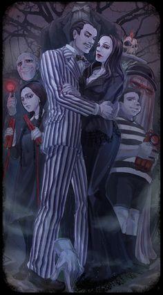 The Addams Family by arashicat.deviantart.com on @deviantART