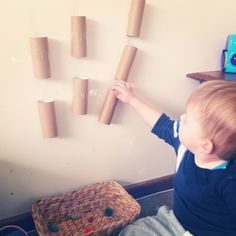Teaching a Toddler - activities for 1 year olds