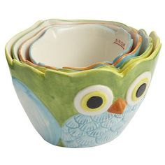 Owl Measuring Cups, Pier One @Ashland Seay this one is for you