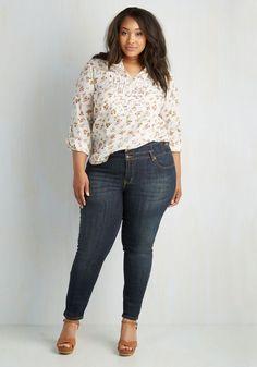 Plus Size Jeans - 1X-3X