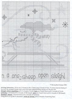 One Sheep Open Sleigh    3/4