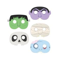 Halloween maskers / masques