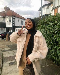 Modern Hijab Fashion, Street Hijab Fashion, Muslim Fashion, Modest Fashion, Eid Outfits, Casual Outfits, Fashion Outfits, Hijab Casual, Hijab Outfit