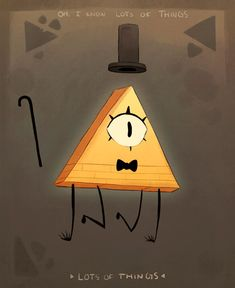 maplespyderart: Bill Cypher, from Gravity Falls