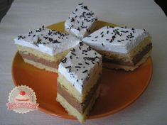 A sütemény ami elolvad a szádban! Egy morzsa sem marad a tányéron! Hungarian Recipes, Garlic Chicken, Bread Crumbs, Tiramisu, Oreo, Feta, Food To Make, Cupcake Cakes, Cheesecake