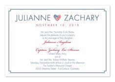military themed wedding invitations army navy marines air force - Military Wedding Invitations