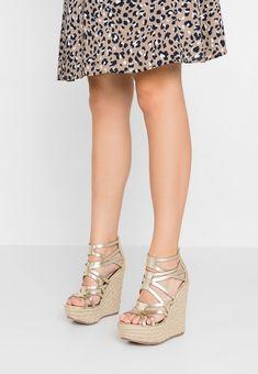 7ed16503a Miss Selfridge WINONA - High heeled sandals - gold - Zalando.co.uk