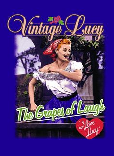 1670b498 Lucy Grape Stomping Magnet Do Love, Love Is All, I Love Lucy Show,