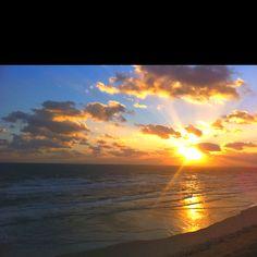 Sunrise over New Smyrna Beach, FL