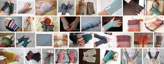 Lange handschoen polswarmer haakpatroon want een lange handschoen laten afzakken tot op de pols, net als bij de slobberkousengeeft