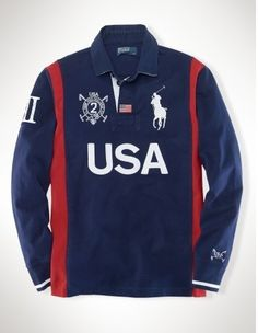 Ralph Lauren Spain Sporty Polo Jacket Red