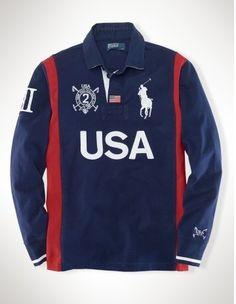 Ralph Lauren Spain Sporty Polo Jacket Red