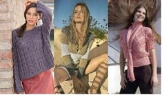 Female youth knitted sweaters Visit website >> http://www.knittingdesigns.net/knitted-sweaters/