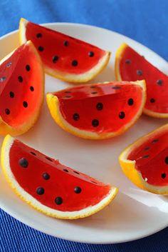 Bajkorada: Galaretki w skórkach z pomarańczy