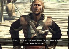 This confession that i live for Assassins Creed Memes, Assassins Creed Black Flag, Assassins Creed Odyssey, Assasing Creed, Assassin's Creed Wallpaper, Edwards Kenway, Character Modeling, Skyrim, Confessions