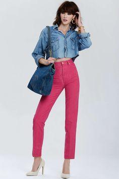 Vintage Chanel Lilas Jean