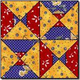 Arkansas Traveler Variation free quilt block pattern