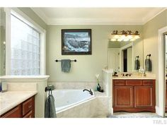 Separate Garden Tub and Shower