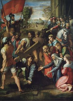 Christ Falling on the Way to Calvary - Raphael - Christ Carrying the Cross - Wikipedia, the free encyclopedia