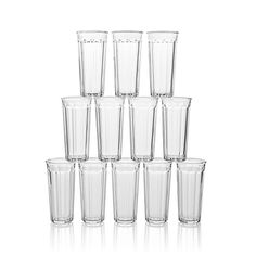 Set of 12 Tall Working Glasses | Crate and Barrel