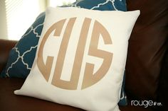 can't ever have enough monograms