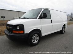 Used 2004 Chevrolet Express 1500 AWD 4X4 Commercial Work Cargo for sale in RICHMOND, VA - $8,995 - Davis Auto Sales Certified Master Dealer Richmond, Virginia - Visit www.davis4x4.com