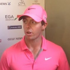 Video Clip from Rory after his round today of -8 to lead into round 3 of the 2015 Omega Dubai Desert Classic #dubai #golf #mydubai #rorymcilroy #pink #video #me