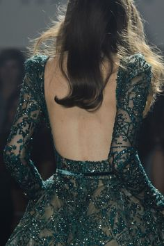 Elie Saab at Couture Fall 2015 - Details Runway Photos Evening Dresses, Prom Dresses, Formal Dresses, Wedding Dresses, Backless Dresses, Couture Dresses, Fashion Dresses, Couture Fashion, Fashion Show