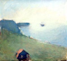 "Gustav Rudberg 1915-2001 ""Backafall, light over the Bay"""