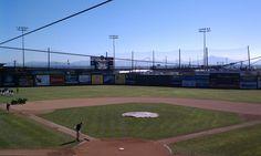 Game day prep at the ballpark #baseball #field