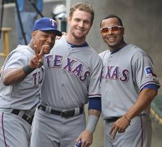 Beltre, Hamilton, and Cruz