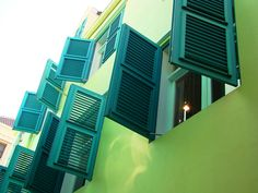 lime and teal - in curacao