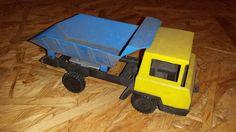DDR Modellauto Plastspielzeug Minidumper LKW zum restaurieren - Dachbodenfund