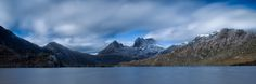 Cradle Mountain Sunrise Pano - A multi shot stitch of Cradle Mountain. A fantastic place to visit.