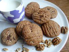 Fotorecept: Špaldové cookies s kúskami čokolády - domáce sušienky sú najlepšie...
