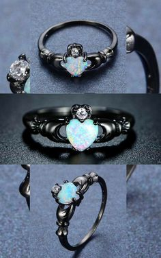 Cute Jewelry, Jewelry Accessories, Jewelry Design, Cute Rings, Pretty Rings, Fantasy Jewelry, Gothic Jewelry, Vintage Jewellery, Magical Jewelry