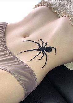 Creepy Tattoos, Dope Tattoos, Anime Tattoos, Torso Tattoos, Belly Tattoos, Body Art Tattoos, Tattoo Girls, Girl Tattoos, Tatoos