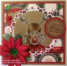 Craftychick Cards: Little Ladybug for No Matter Which Challenge