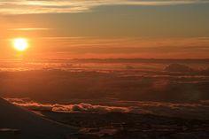 #Sunset on Mauna Kea, Big Island, #Hawaii