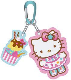 Hello Kitty Ice Cream Carabiner Purse/Key Lash