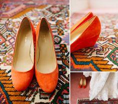 low heel, wedge, easy outdoor wedding shoes - I like these for bridesmaids Orange Wedding Shoes, Outdoor Wedding Shoes, Wedge Wedding Shoes, Bridal Shoes, Low Heel Shoes, Low Heels, Wedge Shoes, Orange Wedges, Orange Shoes