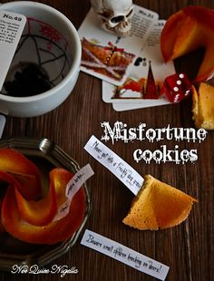 Misfortune Cookies for Halloween (or breakups)!