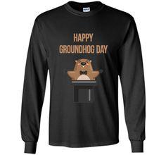 Cool Happy Groundhog Day 2017 Tee Shirt
