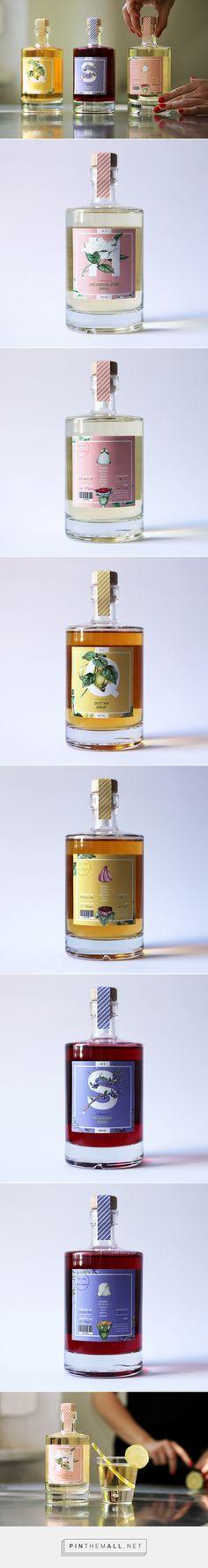 Mamas Best Sirup Packaging by Hannah Rosenkranz | Fivestar Branding – Design and Branding Agency & Inspiration Gallery