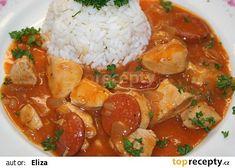 Kuřecí směs recept - TopRecepty.cz Curry, Ethnic Recipes, Curries