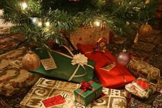 Only 3 gifts for Christmas... to signify the 3 gifts that Jesus got. Frankincense: A gift for spiritual growth; Myrrh: A practical gift; Gold: A gift that fulfills a want.