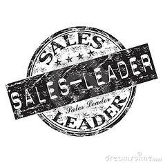 Sales leader rubber stamp