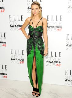 Taylor Swift attends the Elle Style Awards 2015 on February 24.